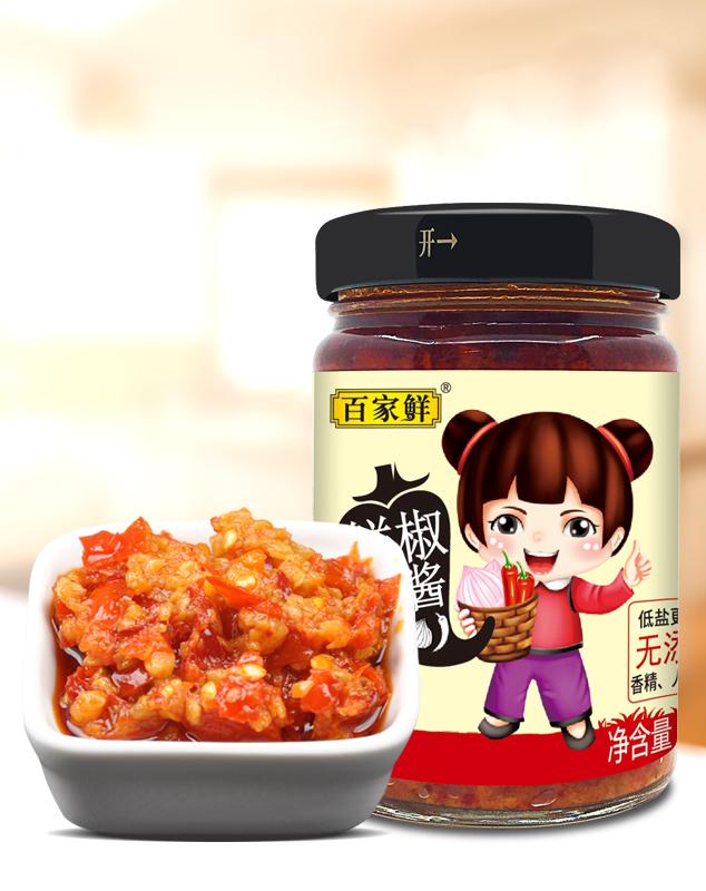 鲜椒小酱/188克*12瓶