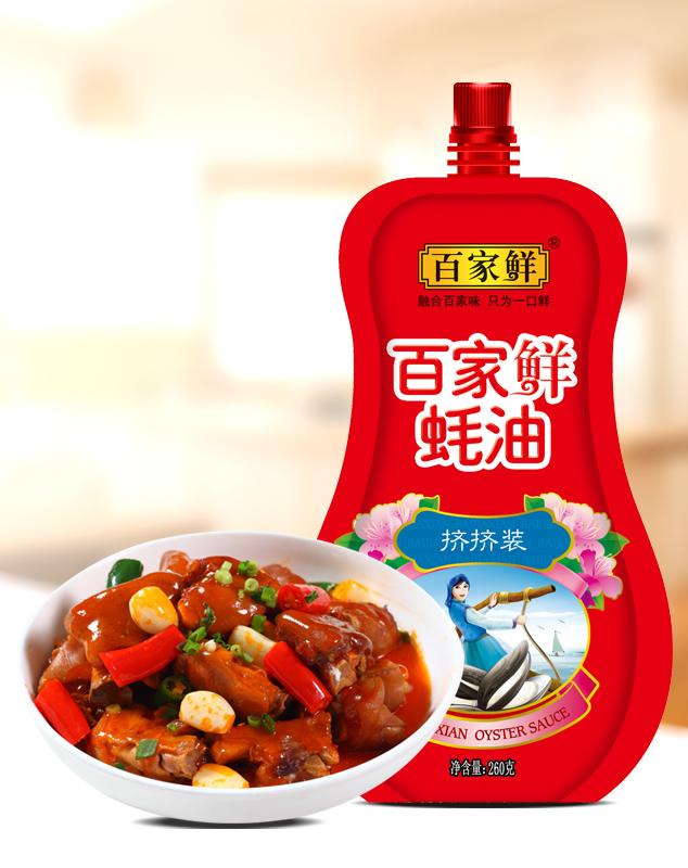 百家鲜蚝油/260克*12袋