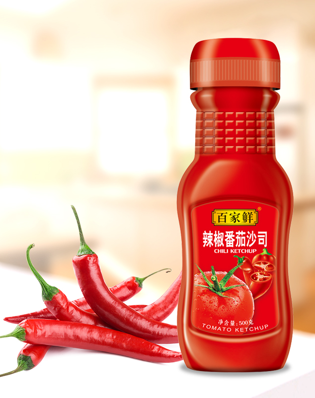 辣椒番茄沙司/500g*12瓶