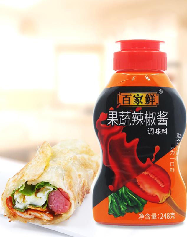 果蔬辣椒酱/248g*20瓶
