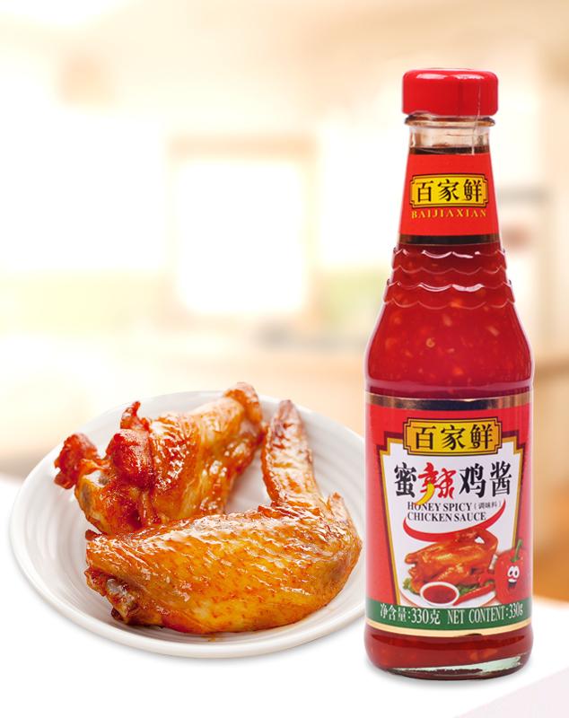 蜜辣鸡酱/330g*12瓶