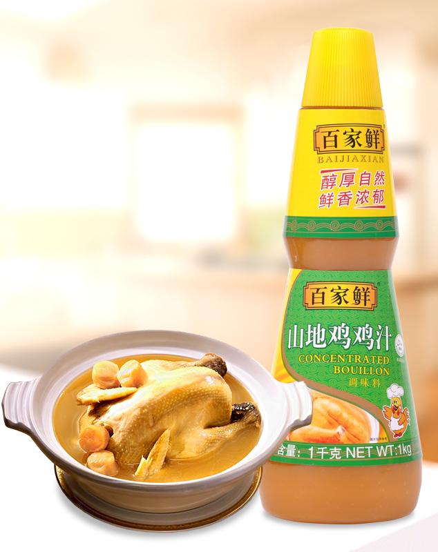 山地鸡汁/1kg*6瓶