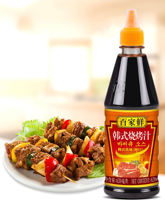 韩式烧烤汁/620毫升*12瓶